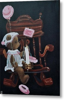 Get Well And God Bless Metal Print by Susan Roberts
