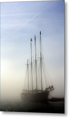 Metal Print featuring the photograph Ghost Ship by Greg DeBeck