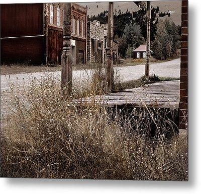 Ghost Town 2 Metal Print by Leland D Howard
