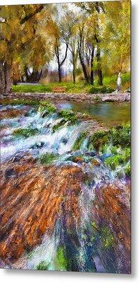 Giant Springs 2 Metal Print by Susan Kinney
