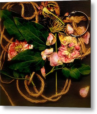 Metal Print featuring the photograph Giardino Romantico by Andrew Gillette