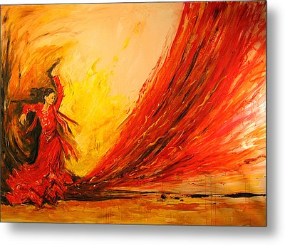 Gift Of Fire Metal Print