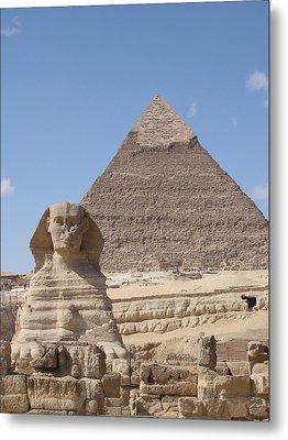 Giza Metal Print