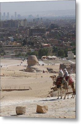 Giza To Cairo Metal Print
