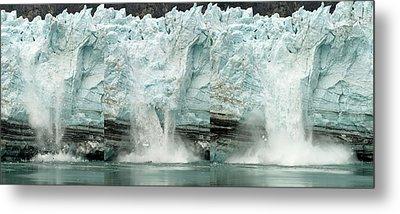Glacier Calving Sequence 1 Metal Print by Robert Shard