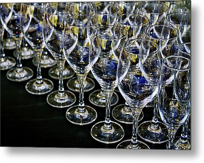 Glass Soldiers Metal Print