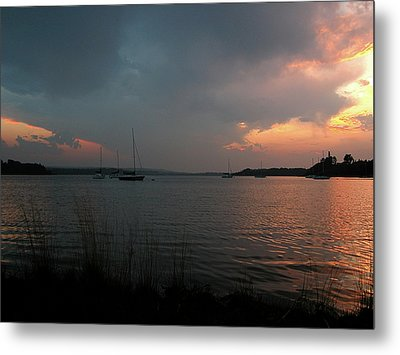 Glenmore Reservoir - Sunset 3 Metal Print by Stuart Turnbull
