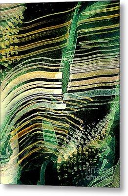 Gmo Corn Metal Print by Nancy Kane Chapman