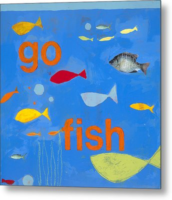 Go Fish Metal Print by Laurie Breen