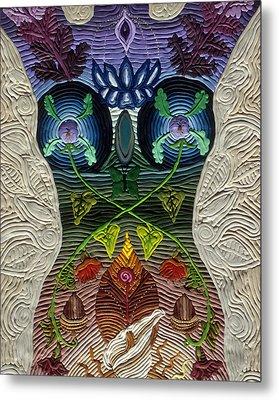 Godbody Metal Print by Arla Patch