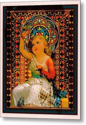 Goddess In Training Metal Print by Janiece Senn