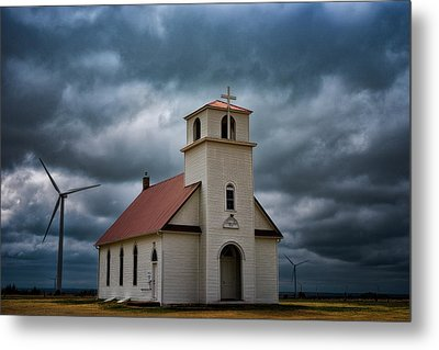 Metal Print featuring the photograph God's Storm by Darren White