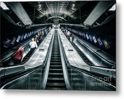 Going Underground Metal Print
