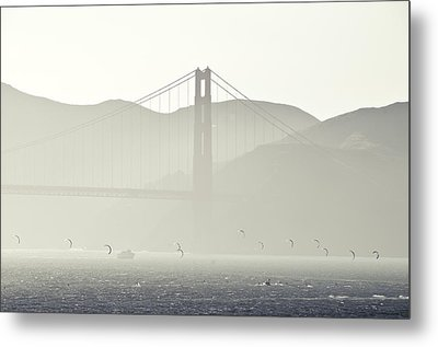 Golden Gate Bridge Metal Print by Paul Plaine