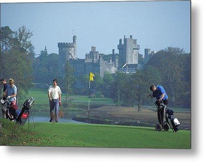 Golf At Dromoland Castle In Ireland Metal Print