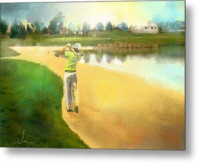Golf In Club Fontana Austria 02 Metal Print by Miki De Goodaboom