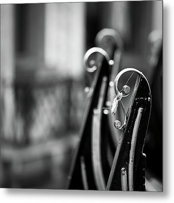 Metal Print featuring the photograph Gondolas by Stefan Nielsen
