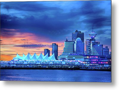 Metal Print featuring the photograph Good Morning Vancouver by John Poon
