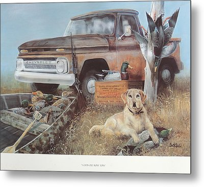 Good Old Boys' Toys  Sold Metal Print
