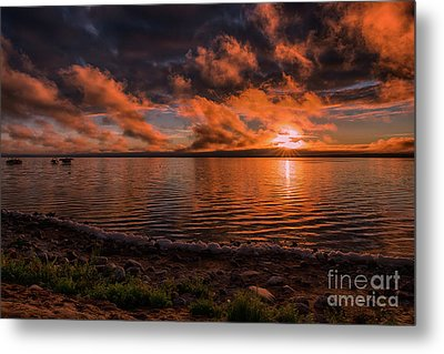 Good Spirit Sunrise Metal Print