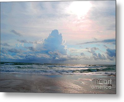 Goodbye Storm Metal Print