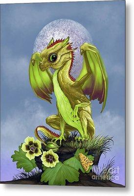 Gooseberry Dragon Metal Print by Stanley Morrison