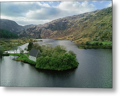 Gougane Barra From Above Metal Print by Michael Meade