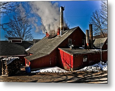 Goulds Sugarhouse Metal Print by Mike Martin