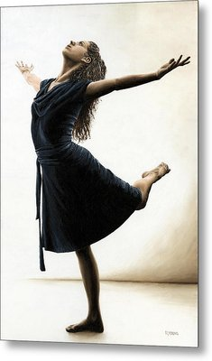 Graceful Enlightenment Metal Print by Richard Young