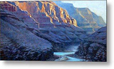 Grand Canyon Dawns Metal Print