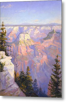 Grand Canyon North Rim Metal Print by Lewis A Ramsey