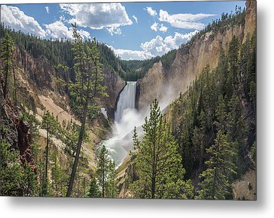 Grand Canyon Of Yellowstone Metal Print by Alpha Wanderlust