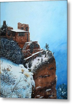 Grand Canyon Overlook Metal Print by Mike Ivey