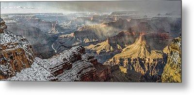 Grand Canyon Storm Metal Print