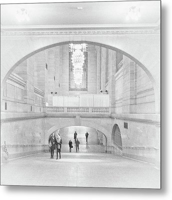 Metal Print featuring the photograph Grand Central Station by Lora Lee Chapman