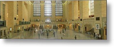 Grand Central Station New York Ny Metal Print