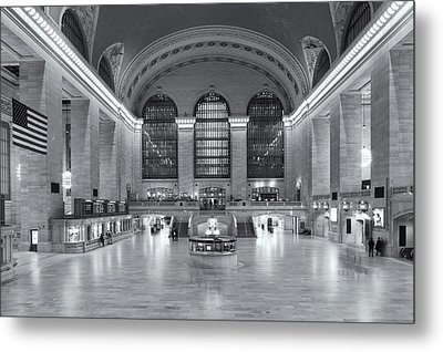 Grand Central Terminal II Metal Print by Clarence Holmes