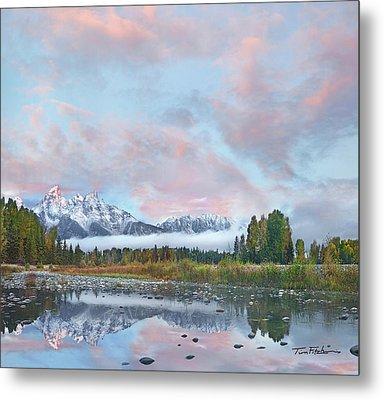 Grand Teton National Park, Wyoming Metal Print