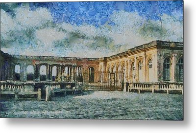 Grand Trianon Metal Print by Aaron Stokes