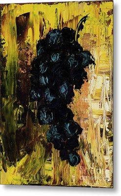 Grapes Metal Print by Jodi Monahan