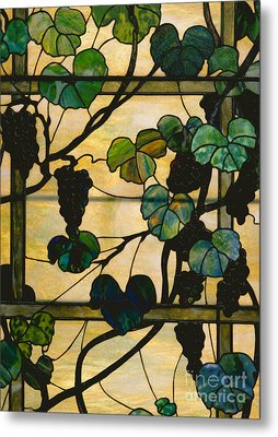 Grapevine Panel Metal Print
