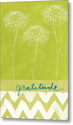 Gratitude Metal Print by Linda Woods