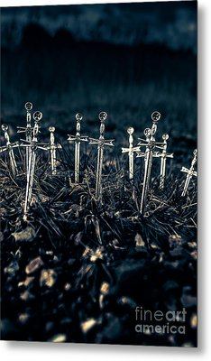 Gravely Battlefield Metal Print by Jorgo Photography - Wall Art Gallery