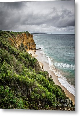Metal Print featuring the photograph Gray Skies by Perry Webster