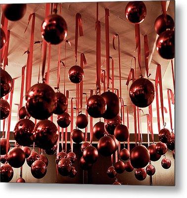 Great Balls Of Macy's Metal Print by Lorraine Devon Wilke