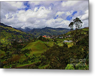 Great View North Of Paute IIi Metal Print