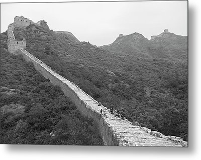 Metal Print featuring the photograph Great Wall 4, Jinshanling, 2016 by Hitendra SINKAR