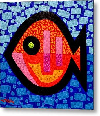 Green Eyed Fish  Metal Print