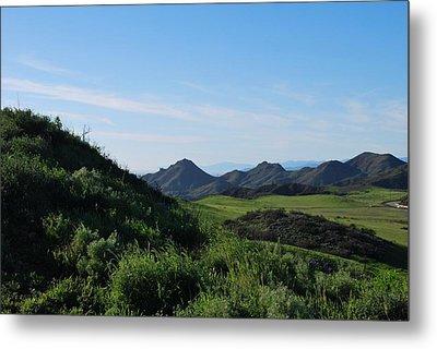 Metal Print featuring the photograph Green Hills Landscape by Matt Harang