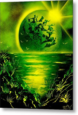 Green Planet 4669 E Metal Print by Greg Moores